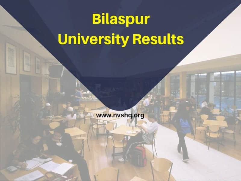 Bilaspur University Results