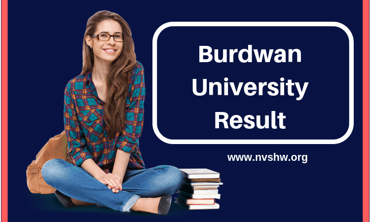 Burdwan University Result
