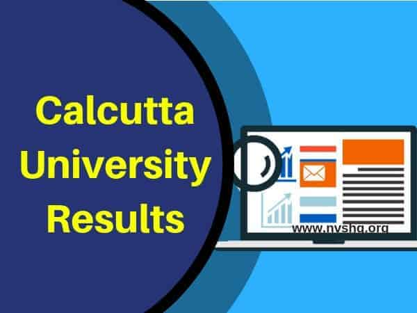 Calcutta University Results
