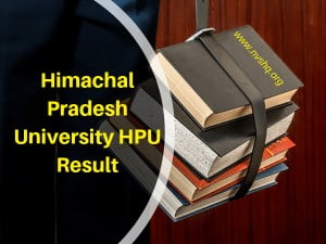 Himachal-Pradesh-University-HPU-Result
