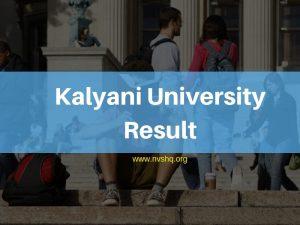 Kalyani-University-Result