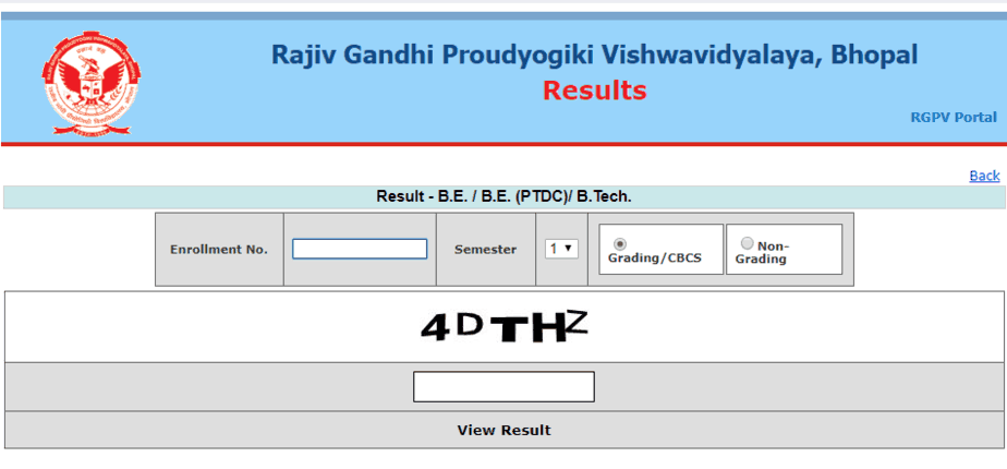 RGPV Results 2019 (Announced) Diploma UG/PG 2nd, 4th, 6th Sem
