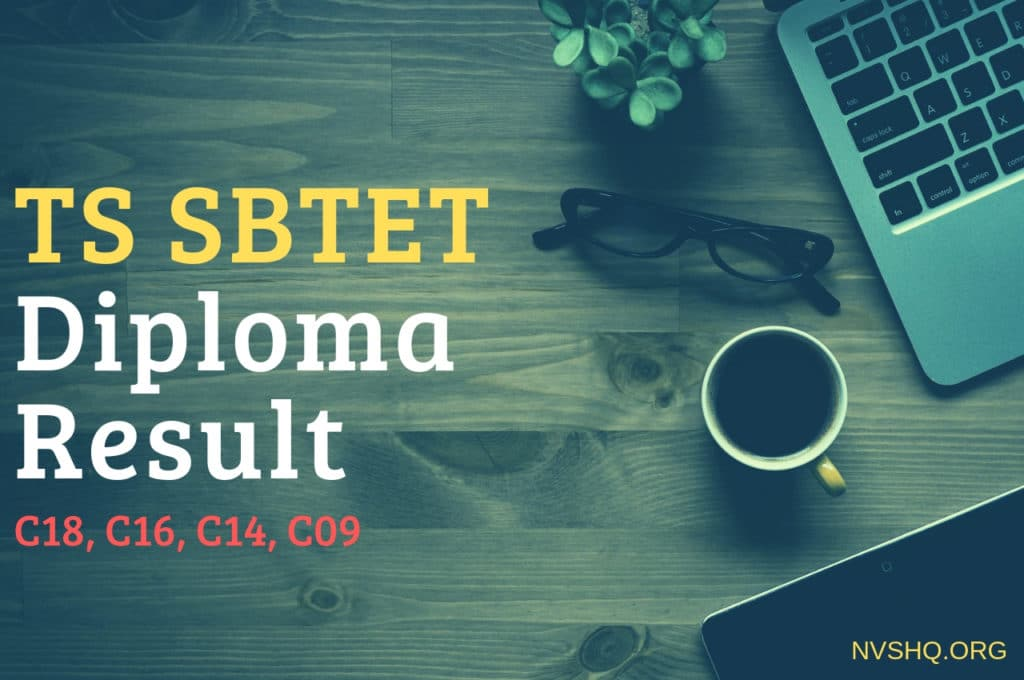 TS SBTET Diploma Results Oct/Nov 2018 Exams C18, C16, C14, C09