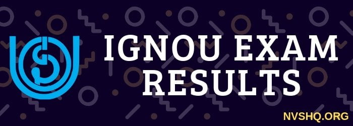 IGNOU result 2019