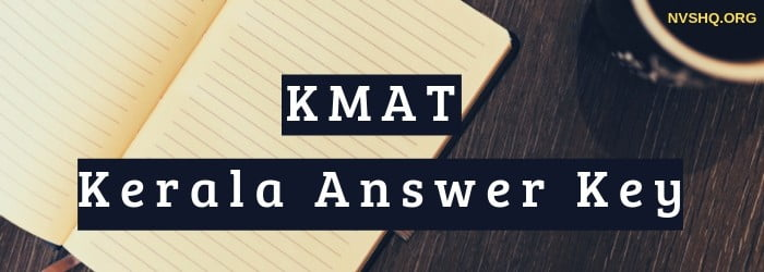 KMAT Kerala Answer Key