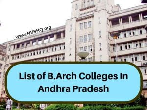 List-of-B.Arch-Colleges-In-AP-Andhra-Pradesh