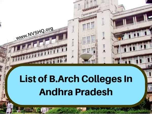 B.Arch_Colleges_In_AP