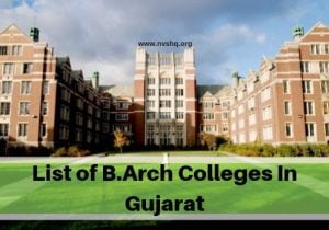 List-of-B.Arch-Colleges-In-Gujarat