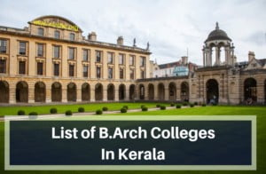 List-of-B.Arch-Colleges-In-Kerala
