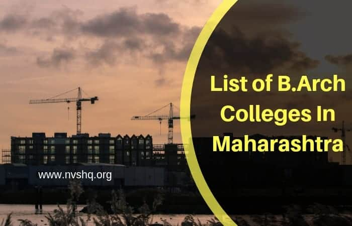 List of B.Arch Colleges In Maharashtra