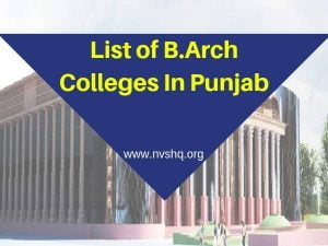 List-of-B.Arch-Colleges-In-Punjab