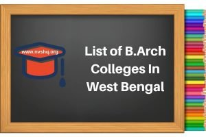 List-of-B.Arch-Colleges-In-West-Bengal
