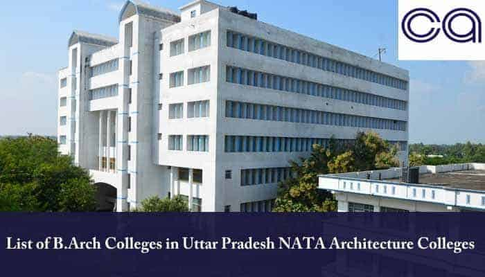 List of B.Arch Colleges in Uttar Pradesh
