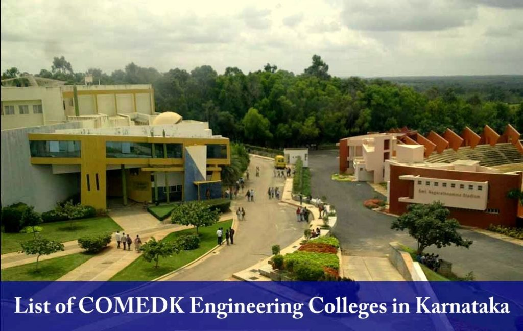 List of COMEDK Engineering Colleges