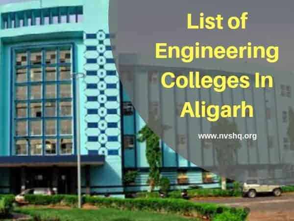 List of Engineering Colleges In Aligarh