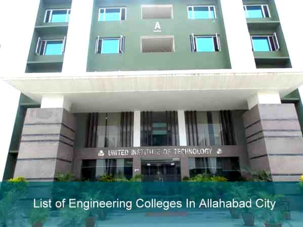 List of Engineering Colleges In Allahabad