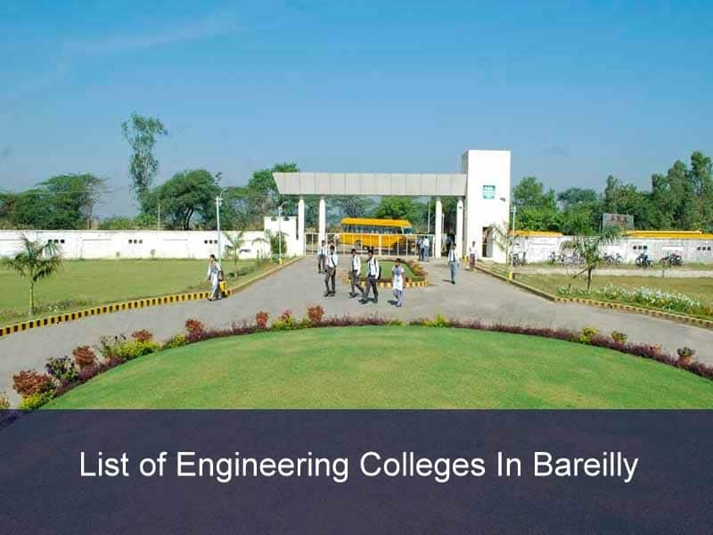 List of Engineering Colleges In Bareilly