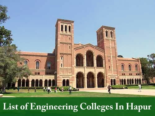 List of Engineering Colleges In Hapur