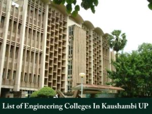 List-of-Engineering-Colleges-In-Kaushambi