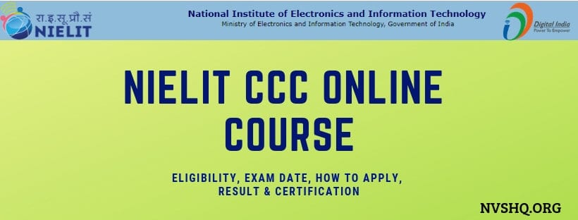 b64c8be56e NIELIT CCC Online Course
