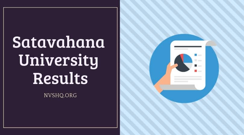 Satavahana University Degree Result 2019 2nd,4th,6th Sem UG/PG CBCS