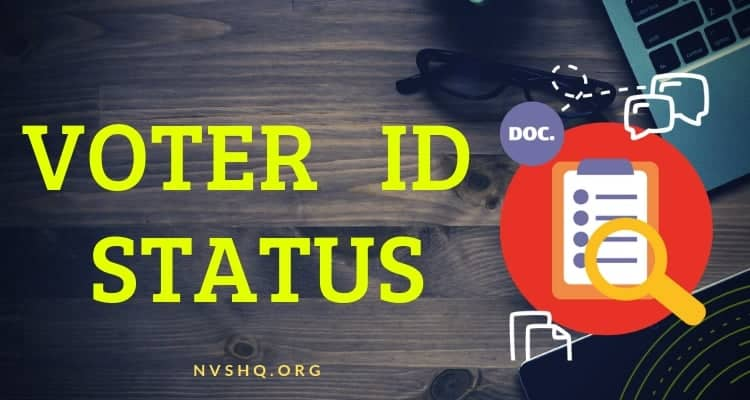 2f18b35193 Voter ID status  Check your Election Card Status