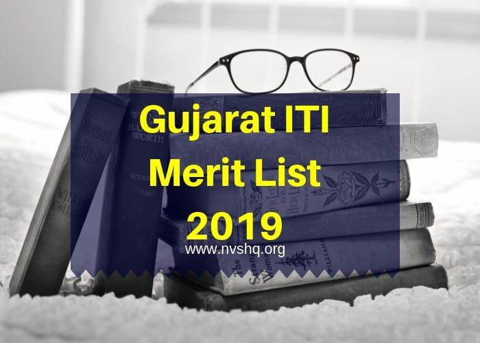 Gujarat ITI Merit List 2019