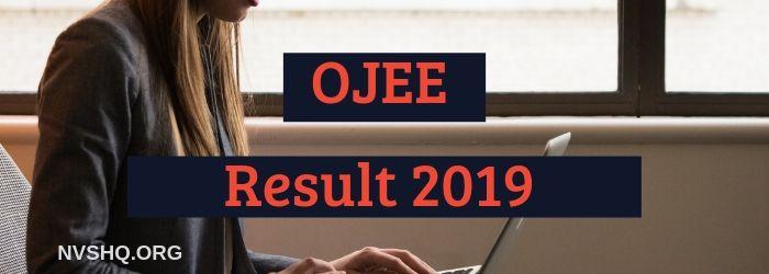 OJEE Result 2019