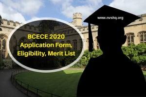 BCECE-2020-Application-Form-Eligibility-Merit-List