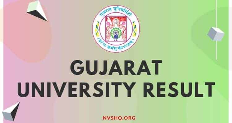 Gujarat_University_Result