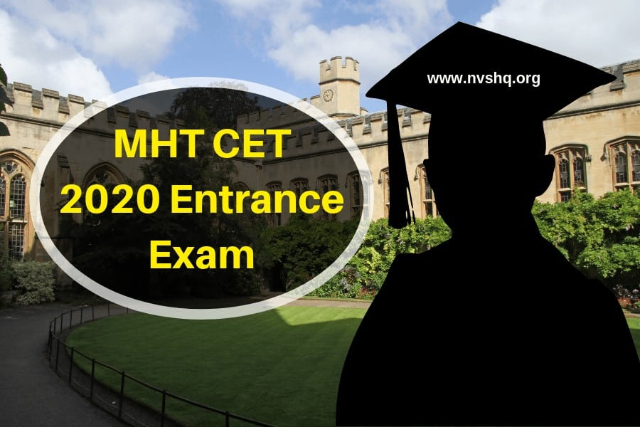 MHT CET 2020 Entrance Exam