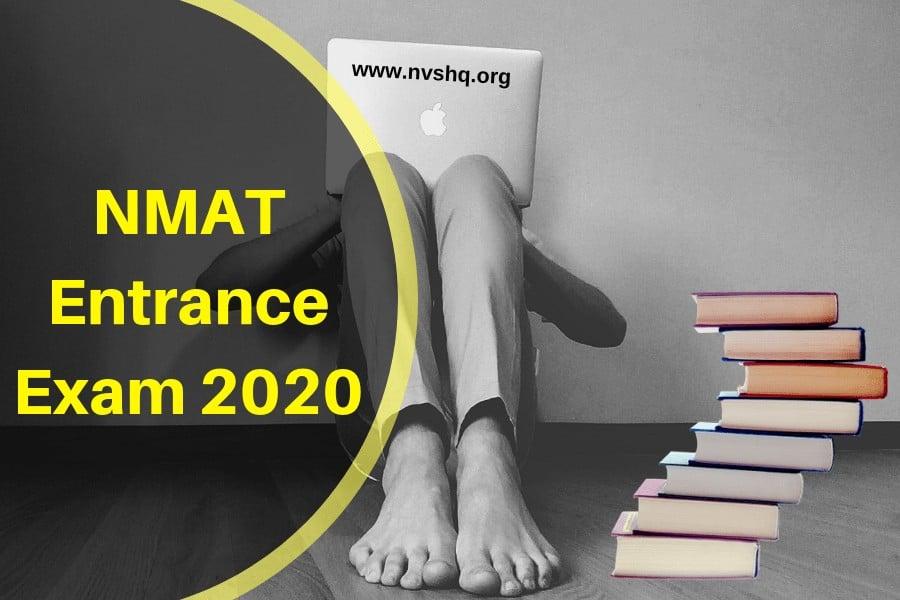 NMAT Entrance Exam 2020