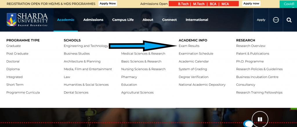 sharda-university-result-2020