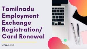 tnvelaivaaippu.gov.in registration Renewal