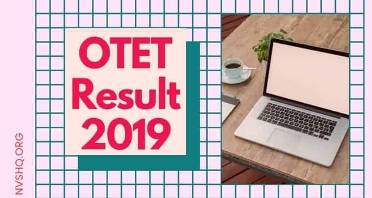 OTET Result 2019