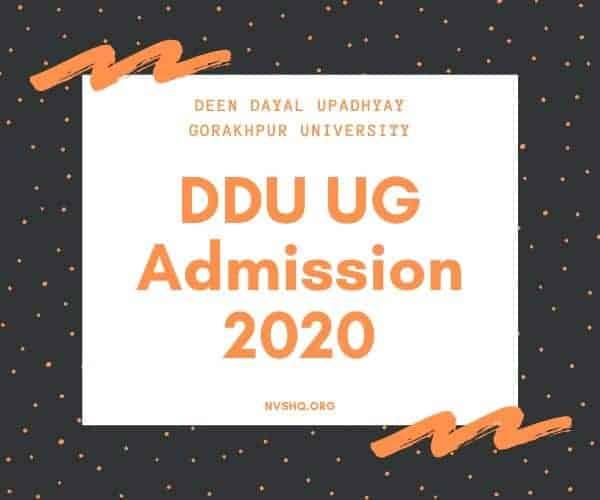 DDU-UG-Admission-2020
