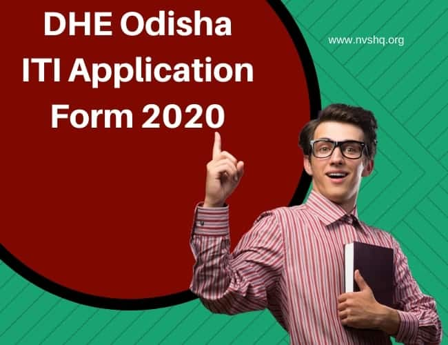 DHE Odisha ITI Application Form 2020