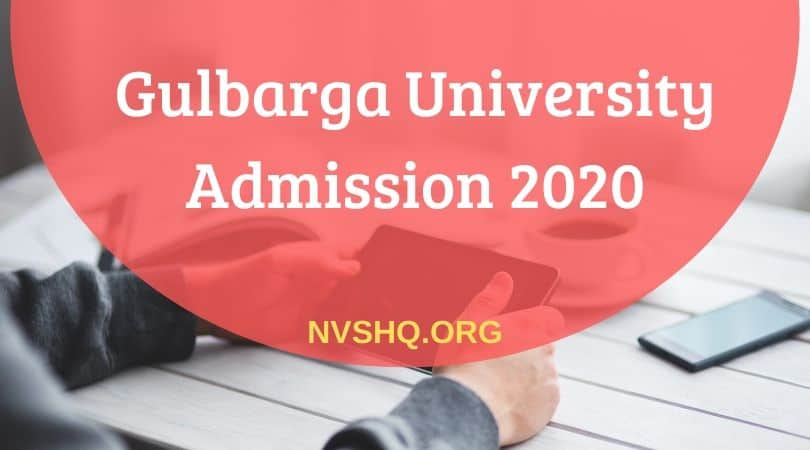Gulbarga-University-Admission-2020