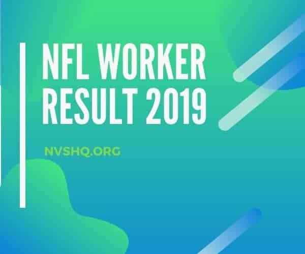 NFL Worker Result 2019