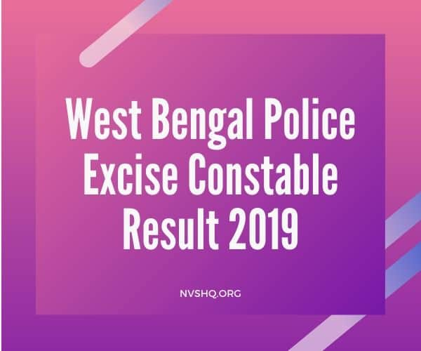 West-Bengal-Police-Excise-Constable-Result-2019