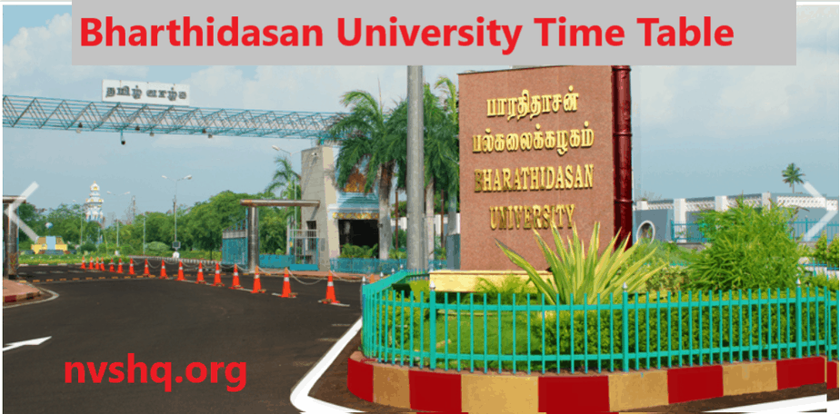 bharthidasan-university-time-table-2020