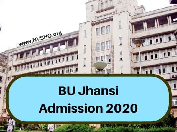 BU Jhansi Admission 2020