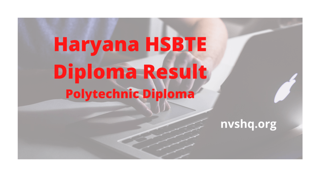 Hsbte Diploma Results 2020 May June Exam Link