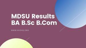 MDSU-Results