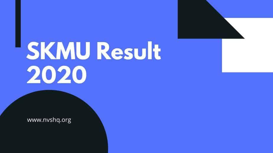 SKMU Result 2020