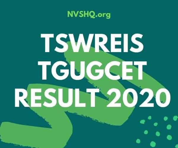 TGUGCET-Result-2020