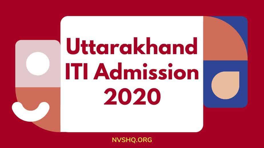 Uttarakhand-ITI-Admission-2020