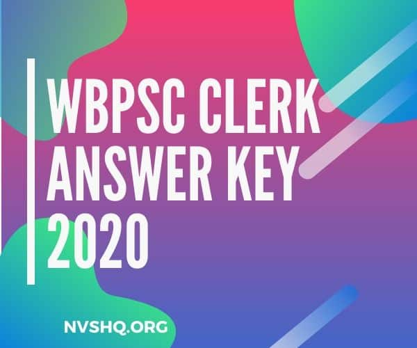 WBPSC_Clerk_Answer_Key_2020