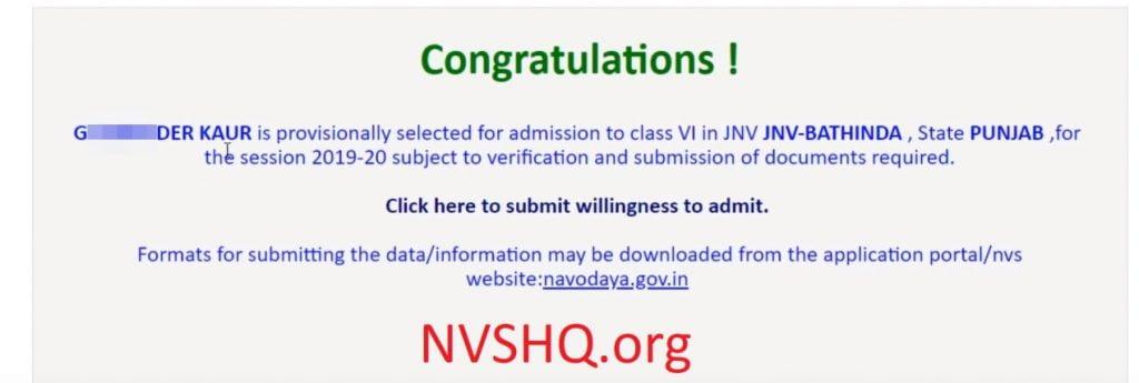 navodaya_result
