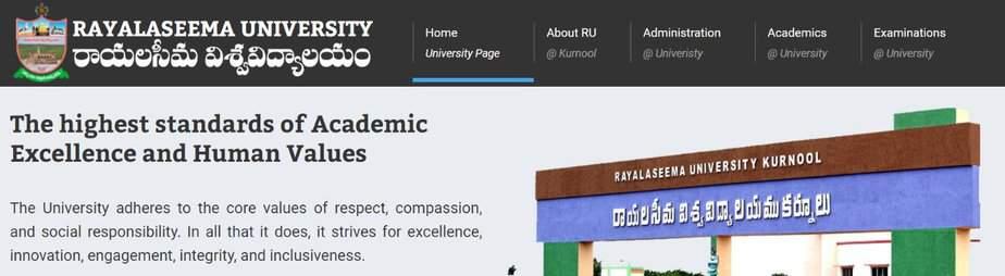 ruk.ac.in rayalaseema degree result